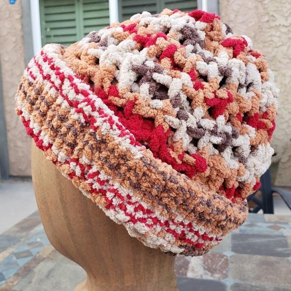 Snugs Accessories New Hand Knit Basket Weave Beanie Slouch Poshmark